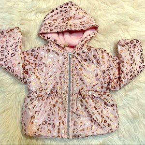 Penelope Mack Pink Leopard Print Jacket